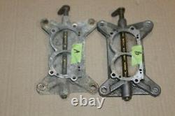 1967-69 Chevrolet Corvette Holley Tri Power Carburetor Fin Base Plate