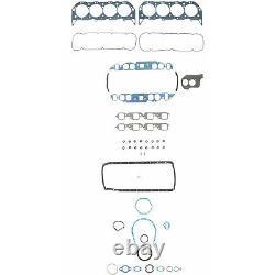1991-1995 Chevy 454 7.4l Jeu Complet De Joints D'étanchéité Du Moteur À Grand Bloc 260-1635