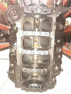 396 L78 Bloc Moteur L 23 68 4 Bouchons Principaux À Boulon Standard Bore Chevelle Corvette