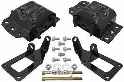 4x4 1988-1998 Chevy Obs Truck Ls Swap Engine Conversion Mount Kit Ls1 Ls3
