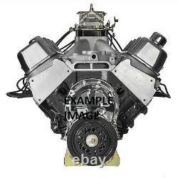 598 Cube Dart Big Block Chevy Engine (705hp @5200rpm, Hyd Street Cam, Pump Gas)