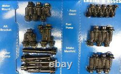 Arp 534-9701 Chevy Small Block Engine Accessoire Bolt Kit Black Oxide 12 Pt Tête