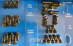 Arp 534-9801 Chevy Kit De Boulon De Petit Bloc De Moteur Black Oxide Hex Head