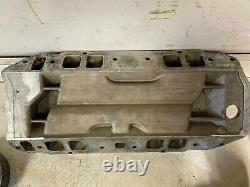 B&m 174 Big Block Chevy Bbc Blower Supercharger Induction Forcée Holley Intake