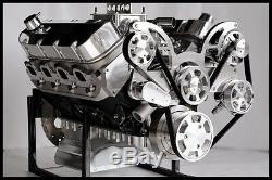 Bbc Chevrolet 540-555 Moteur, Etape 7 Dart Bloc Moteur Crate 724 Ch Serpentine