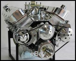 Bbc Chevy 632 Etape 9.5 Tournez Bloc Moteur Clé Dart, Têtes Afr 812 HP Tournez La Clé
