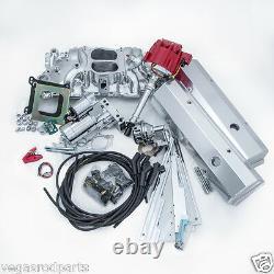 Big Block Chevy 396-454 Super Moteur Deluxe Dress Up Kit Fil Répartiteur D'admission
