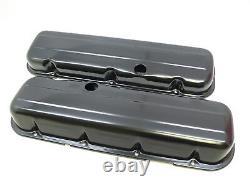 Black Bbc Big Block Chevy Engine Dress Up Kit Huile Pan Aircleaner 396 454 427 402