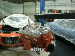 Camaro Nova Chevelle Engine (1969 Dated Heads) 3970010 Block (pistons Forgés)