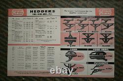 Catalogue Original Vintage Edelbrock Moon 1959 Intake Manifold Heads Tank Hot Rod