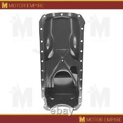 Cfr Pour 1965-90 Chevy Big Block 396-402-427-454 Drag Racing Oil Pan Chrome