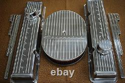 Chevrolet Chevy 350 Ailettes Small Block Stock Taille Billettes Robe Moteur Kit