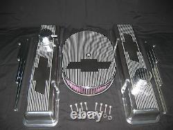 Chevrolet Chevy Fantôme Tie Set Engine Small Block Stock Hauteur Set Valve Cover
