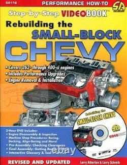 Chevrolet Petit Bloc Reconstruire Manuel Comment Réserver Atherton + DVD Video Engine
