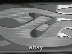 Chevy Sb Sh Crâne Flames Petit Bloc Stock Respirateurs De Hauteur Pcv Valves