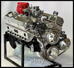 Chevy Turn Key Sbc 421 Étape 4.0 Bloc De Fléchettes, Moteur Caisse 550 Ch
