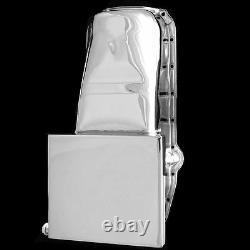 Chrome Deep Oil Pan S'adapte Petit Bloc Chevy 327 350 400 1957-79 Moteurs Chevrolet