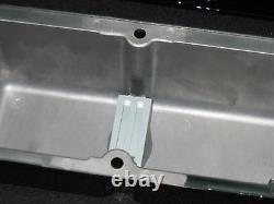 Custom Machine Ghostie Chevy Small Block Valve Cover Grand 12 Ovale Filtre À Air