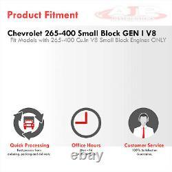 En-tête D'échappement Court 4-1 En Acier Inoxydable Pour Chevrolet Small Block Sbc