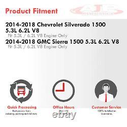 En-tête En Plastique D'échappement Inoxydable +y-pipe Pour 2014-2018 Silverado Sierra 5.3 6.2