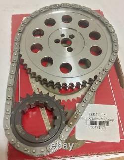 Engine Timing Set S. A. Gear 78537t-9r Big Block Chevy 454 Gen VI Billet Race Set