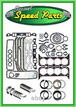 Enginetech Engine Rebuild 65-69 Big Block Chevy 396 Re-ring Kit Rings Roulements