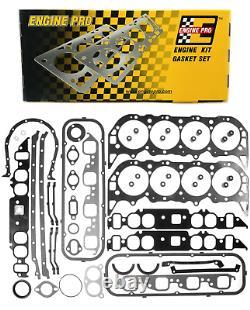Ensemble D'échappement Complet De Remplacement De Moteur Pro Pour La Chevrolet Bbc 1965-1979 396 402 427 454