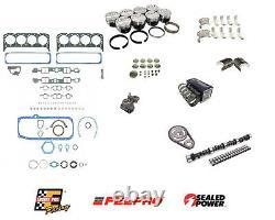 Etape 2 Master Engine Rebuild Kit Pour 1987-1995 Chevrolet Sbc 350 5.7l Tbi