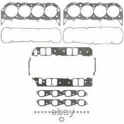 Fel Pro 17205 Grand Bloc Chevy 454 Gen 4 + 5 Moteurs Marins Jeu De Joints De Tête