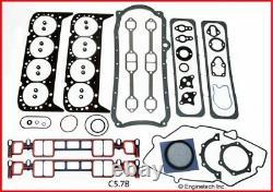 Full Engine Gasket Set Pour 1996-2002 Chevrolet Sbc 350 5.7l Vortec