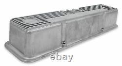 Holley 241-86 M/t Couvercles De Vannes Pour Petits Moteurs Chevy Block Natural Cast F