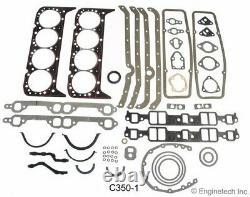 Kit De Reconstruction Du Moteur Principal De L'étape 1 Pour Chevrolet Sbc 383 Stroker 1967-1985