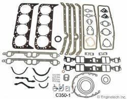 Kit De Révision De Reconstruction Du Moteur Pour 1967-1985 Chevrolet Gmc Truck 350 5.7l Ohv V8