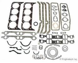 Kit De Révision De Reconstruction Du Moteur Pour Les Moteurs Chevrolet Gm 307 5.0l 1968-1973