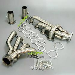 Ls Swap Exhaust Headers For Chevy Ls1 Ls2 Ls3 Ls6 S10 4.8l 5.3l 5.7l 6.0l Moteur