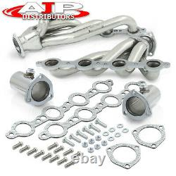 Ls Swap Stainless Steel Header Exhaust For Chevy S10 4.8l 5.3l 5.7l 6.0l 6.2l V8