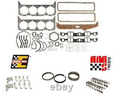Moteur Remain Rering Rering Reveal Kit Pour Chevrolet Sbc 327 350 5.7l Large Journal