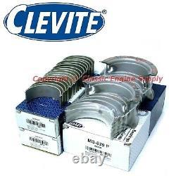Nouveau Clevite Standard Rod & Main Bearing Set 366 396 402 427 454 502 Chevy Bb