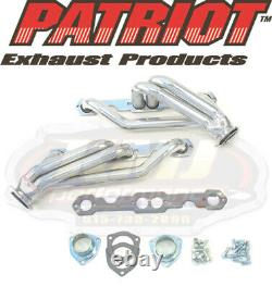 Patriot H8036-1 Chevy S10 2rm Petit Bloc Chevy V8 Moteur Swap En-têtes En Céramique