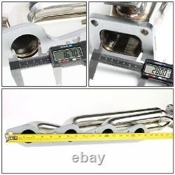 Pour 1966-1995 Chevy/gmc Big Block Bbc Moteur 46mm Port T4 Flange Turbo Manifolds