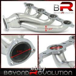 Pour 1982-2004 Chevy 4.8-6.2l Ls Engine Conversion Swap Stainless Exhaust Headers