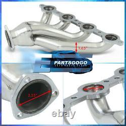 Pour 82-04 Chevy S10 Ls1 Ls2 Ls3 Ls6 Ls Engine Swap Conversion Headers Manifold