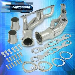 Pour 88-97 Chevy Gmc C/k Pickup 5.0/5.7l V8 Steel Exhaust Racing Headers Manifold