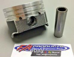 Pour Petit Bloc Chevy 350 Moteur Plat Top Pistons Enduits 8 Silvolite 3437hc+. 020
