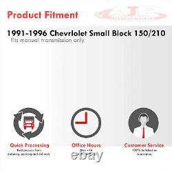 Radiateur En Aluminium Complet À 3 Couches Pour La Corvette Chevy 1991-1996 5.7l V8 Petit Bloc