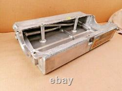 Sbc Chevy Petit Bloc Aluminium Sump Sec Moteur Huile Pan Sprint Car 4 1/2