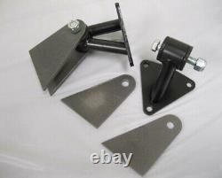 Small & Big Block Chevy Engine Swap Weld-in Street Rod Motor Mounts Kit De Montage