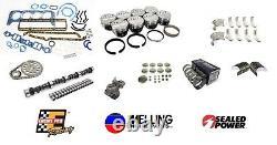 Stock Master Engine Rebuild Overhaul Kit Pour 1967-1979 Chevrolet Sbc 350 5.7l