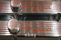 V8 Chevy Small Block Culbuteurs 12 Filtre À Air Ovale Filtre K & N Reniflard Pcv
