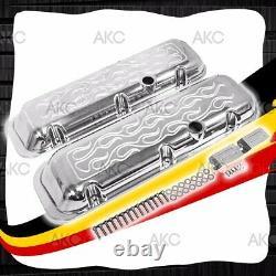 Valve En Aluminium Courte Flamme Pour 65-95 Chevy Bb 396 427 454 502